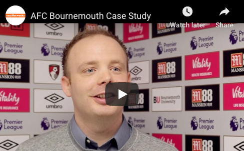 AFC Bournemouth case study on easyNetworks