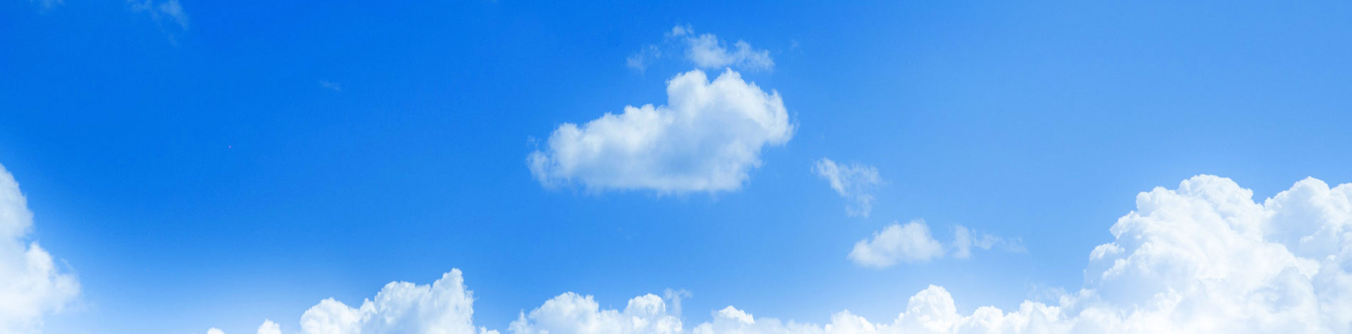 picture of blue sky and clouds