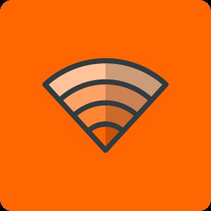 WiFi Icon easyNetworks orange