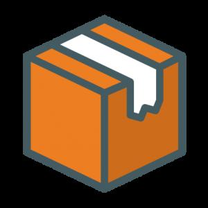 Relocating Icon transparent