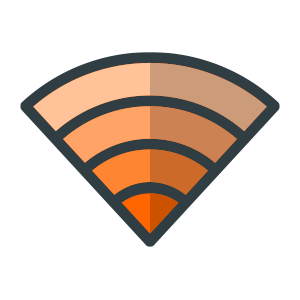 WiFi icon for button