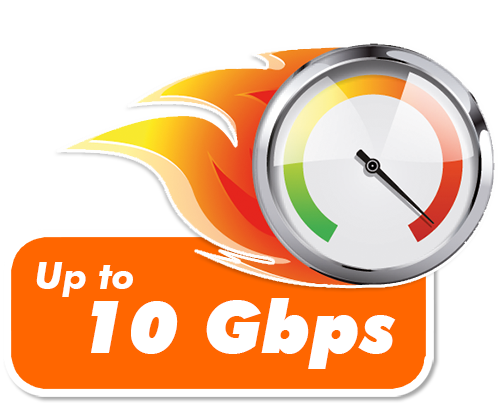 up to 10gbps