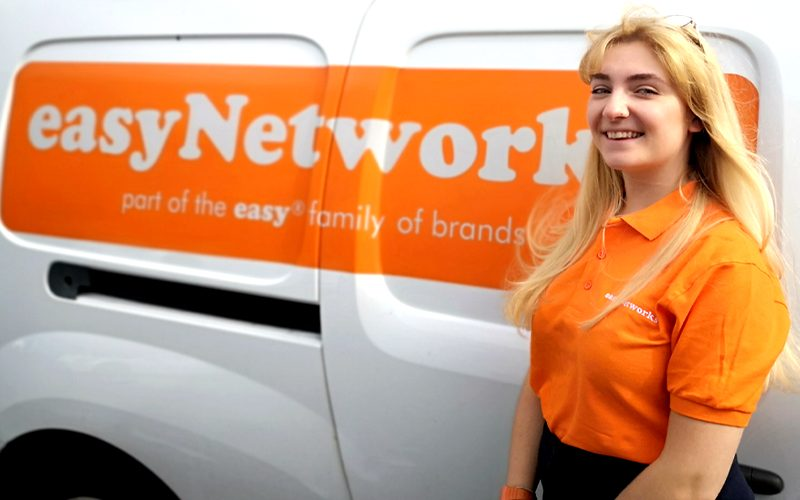 Image of Bryony Copnall, easyNetworks' Digital Marketing Executive.